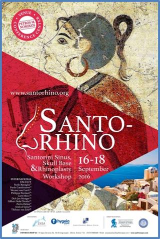"""Ο Dr. med. B. Παυλιδέλης, ομιλητής στο Συνέδριο """"SANTO-RHINO"""", 16-18 Σεπτεμβρίου 2016"""